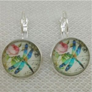 Whimsical Dragonfly (pierced earrings)